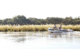 Fishing at the Ngywenya Channel