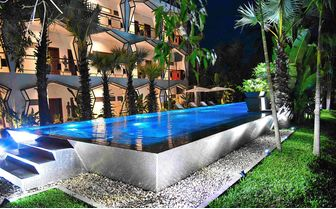 Pool at night at Jaya House River Park