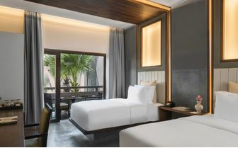 Deluxe twin room at Jaya House River Park