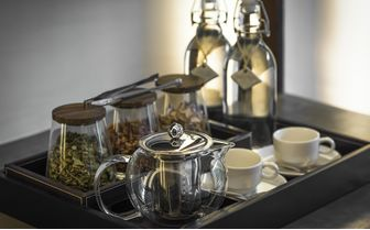 Tea making facilities in the rooms