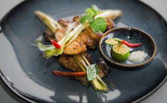 Vietnamese chicken dish