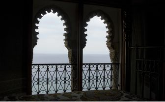 Sea view from windows