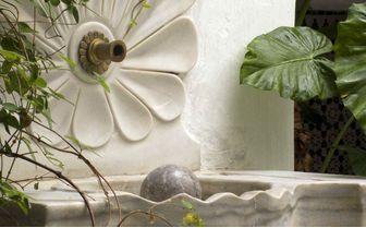 Moroccan style fountain
