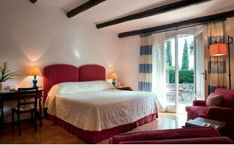 Double Garden view room at Il Pellicano