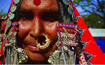 Local Sandur woman