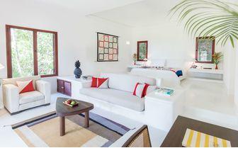 Ocean suite and bed at Hotel Esencia