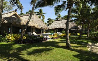 Beachfront villa two bedroom garden