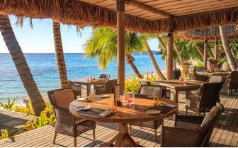 Beach Shack restaurant by day