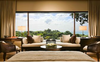 Premier garden room with view