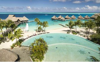 Conrad Bora Bora Nui resort pool
