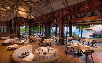 Conrad Bora Bora Nui Iriatai french restaurant