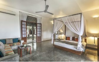 Olive Ridley beach view room