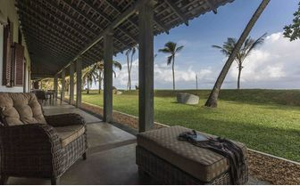 Olive Ridley beach view room terrace