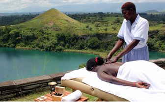 Massage with view