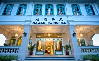 Majestic Malacca entrance