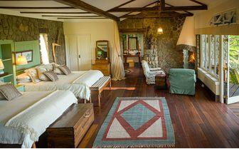 Cottage Shamba bedroom