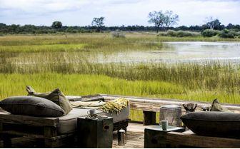Private deck okavango views