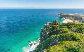 Coastline from cliffs