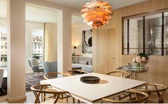 Designer Suite living room