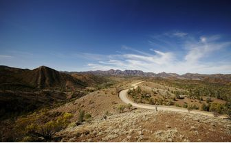 Flinders Ranges road