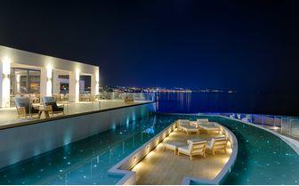Luxury hotel Greek Island