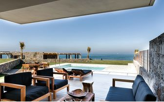 Luxury villa suite Greece