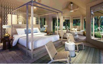 Tended Beach Villa bedroom
