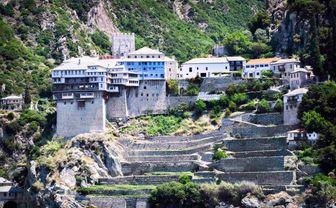 Halkidiki hilander monastery