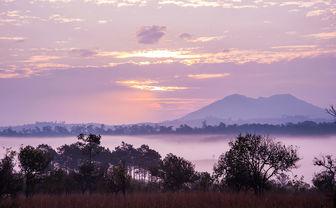 Sunset Mount Kilimanjaro
