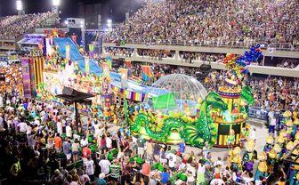 Rio Carnival floats