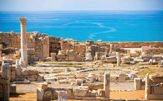 Ruins of ancient Kourion, Cyrpus