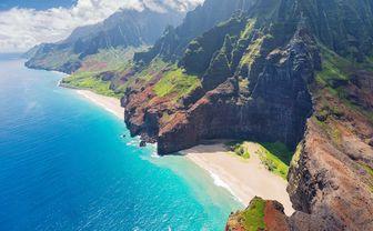 Kauai island coast