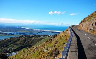 Road near Christchurch