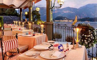 La Terazza restaurant at Grand Hotel Tremezzo