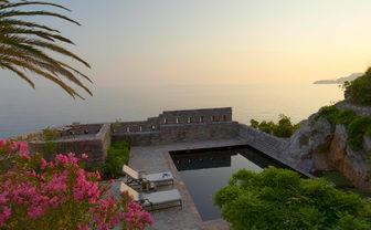 Sveti Stefan private pool