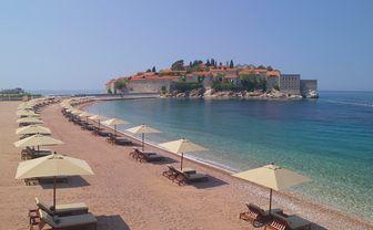 Islet beach