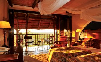 Victoria Falls Safari Lodge standard twin room
