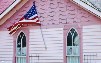 Pink house, Martha's Vineyard