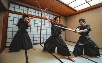 Samurai sword lesson