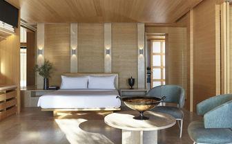 Pavillion Bedroom, Amanzoe