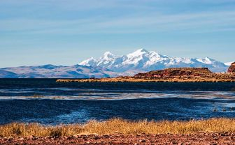 Lake Titicaca and Andes
