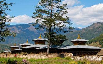 Typical Bumthang Dzong