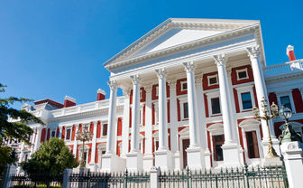 Parliament building, Cape Town