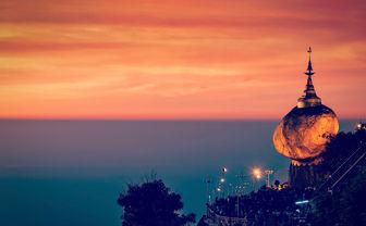 Golden rock Kyaiktiyo, Burma