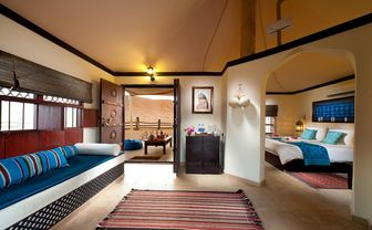 Luxury tent at Desert Nights Camp