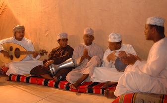 Oud players at Desert Nights Camp