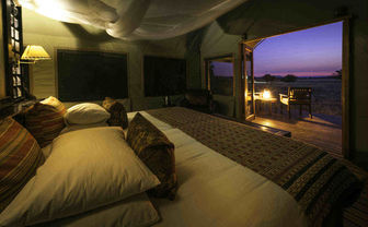 Bedroom at Sunset