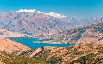 Lake in Uzbekistan