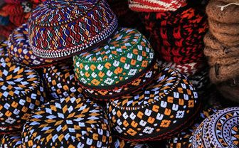 Colourful wares