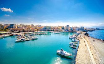 Heraklion harbour, Crete